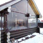 гибкие окна в загородный дом