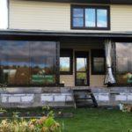 мягкие окна пвх загородный дом