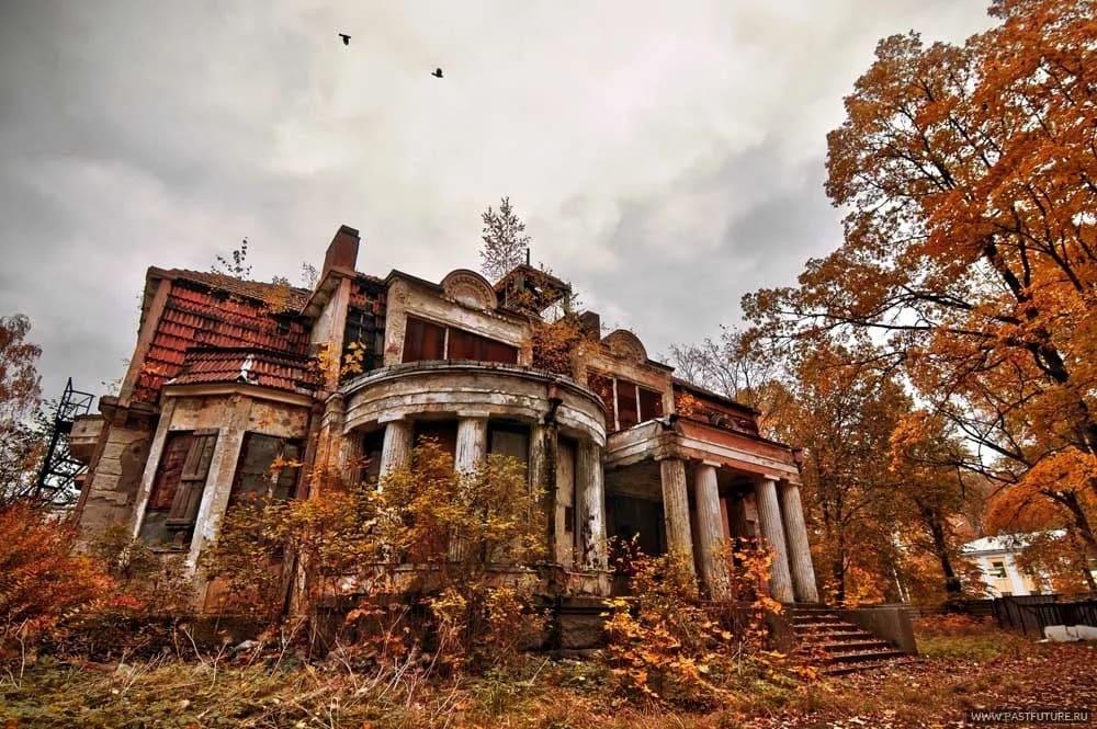 Заброшенные места Ленинградской области фото