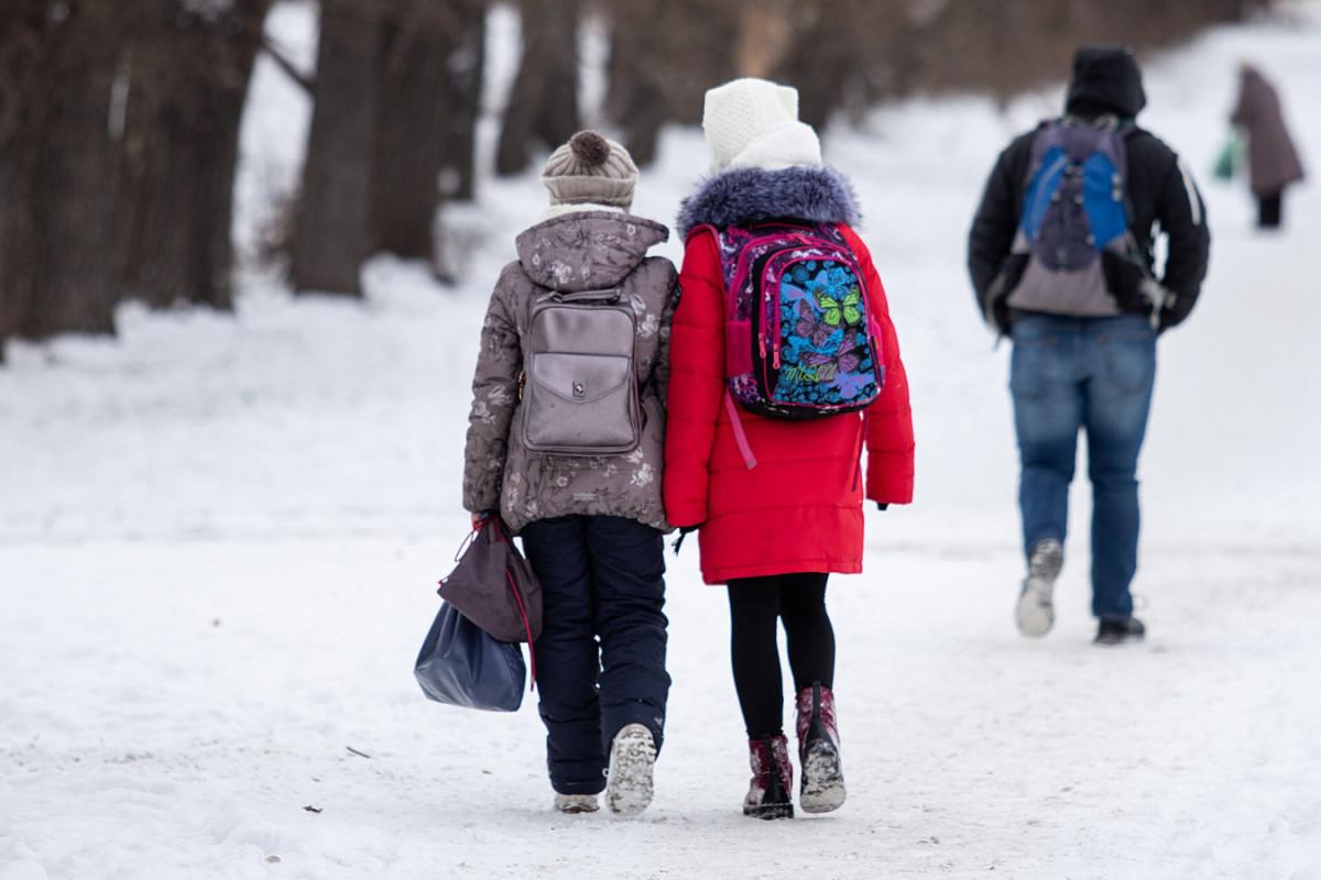 Когда школьники могут оставаться дома в мороз