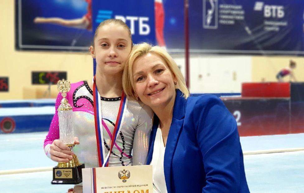 Злата Осокина — серебряная финалистка  Первенства России 2021 года