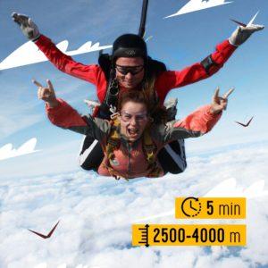 прыжок с парашютом в гатчине тандем