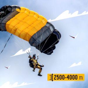 спортивный прыжок с парашютом в гатчине