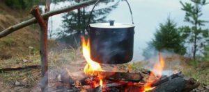 посуда для кемпинга и похода