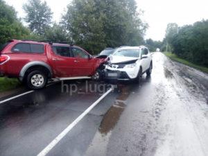 авария под Лугой