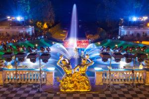 Закрытие фонтанов Петергоф 2021