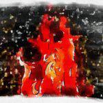 Пожар в СНТ под Лугой — обошлось без жертв