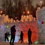 Снежная крепость в Гатчине — забытая традиция