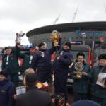 Областные пожарные — на пьедестале победителей